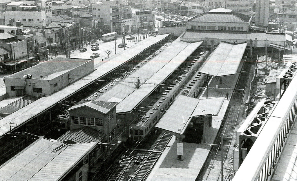 京阪電鉄・天満橋駅(Ⅶ):おー...